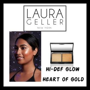 LAURA GELLER Hi-DEF GLOW.   HEART OF HOLD. NEW